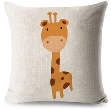 The Giraffe Cushion